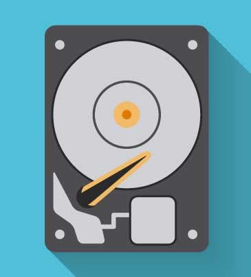 Hard-Disk-Storage